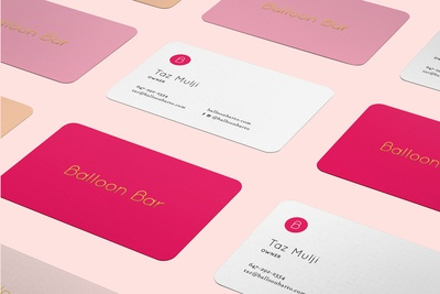 Balloon Bar Identity