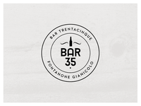 Logo for a new bar in Rome