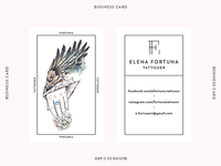 Elena Fortuna Business Card