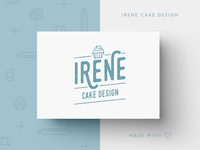 Logo proposal for Irene Cake Design