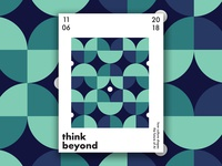 Think Beyond - Poster Series 1