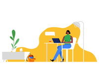 Internet Safety Illustration