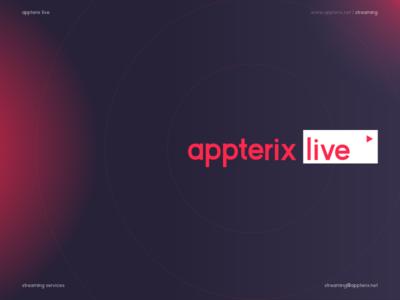 appterix live logo streaming branding