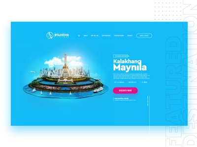 Philippines Tourism Campaign | Website Design & Creative Imagery inspiration image manipulation government travel uiux philippines interactiondesign awesome creative design tourism web design website design