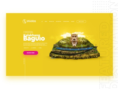 Philippines Tourism Campaign | Website Design & Creative Imagery website concept web design website design websites ui  ux ui travel tourism campaign tourism website city baguio philippines manila creative design awesome design