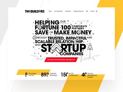 Builders Interactive Agency  |  Website Design Proposal typography creative ui  ux user experience userinterface website design website agency website