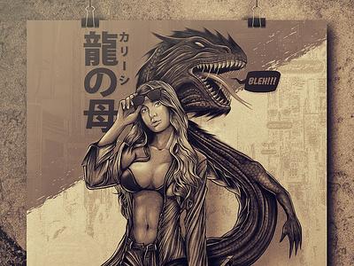 Khaleesi sketches artist art direction illustration digitalart drawing creative artwork
