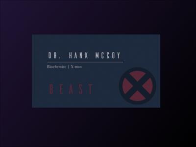 Beast - Dr McCoy