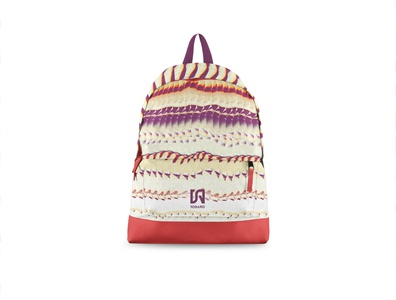 Backpack Tobago Branding & Pattern