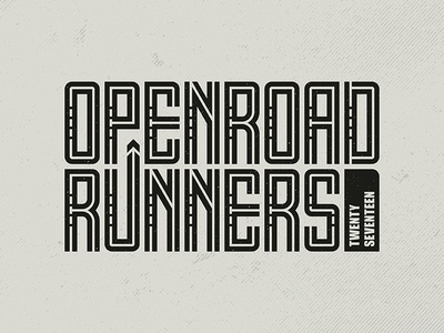 OpenRoad Runners 2017 Logo
