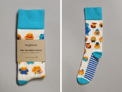 Owl You Need is Socks!