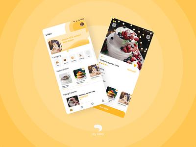 Cake App ux ui uiux mobile mobile app design app