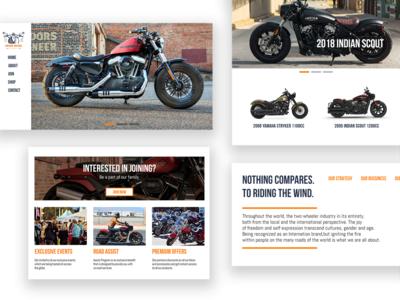 Vintage Motors Website