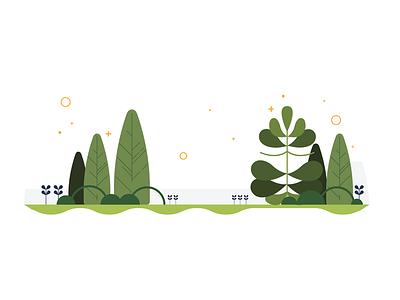 Smallbiz Forest illustration vector forest