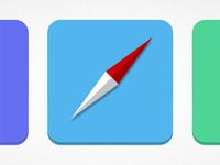 Safari icon + colors