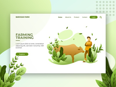 Landing Page Exploration About Farm
