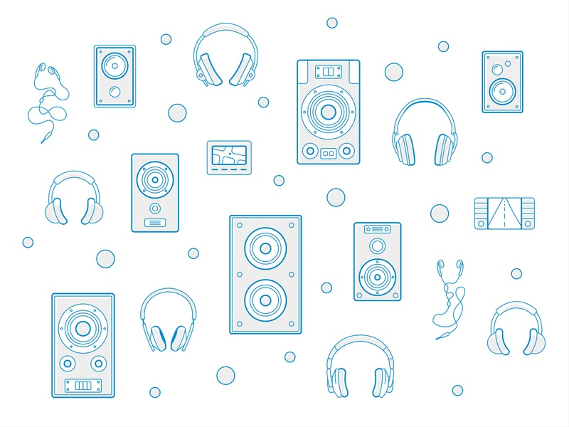 Emovation Custom Icons icon set sound outline icon outline stereo hi-fi headphone icon headphone headset icon speaker icon icons audio icons audio startup agency