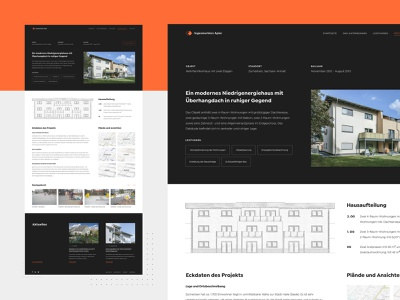 Ingenieurbüro Apler - Project Page real estate company real estate agency real estate property properties minimalistic minimal project page construction company construction agency construction clean building architecture architect