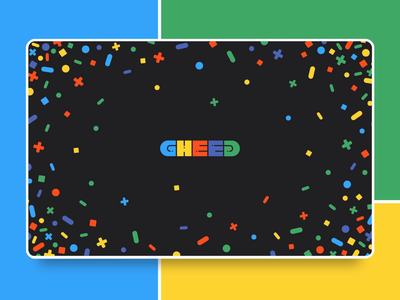 GHEED Logo Animation influencer marketing gaming esports influencer twitch youtube streamer streaming giveaway raffle contest logotype gheed logo design logo animation colorful logo colorful happy funny branding