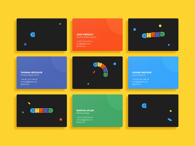 GHEED Animated Business Cards esports gaming gheed logo animation business cards influencer platform influencer marketing influencer live streamer live streaming streamer streaming youtube twitch giveaway raffle contest