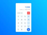 Daily UI, Calculator Design
