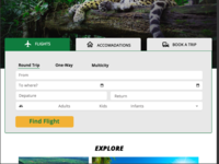 Travel Site booking