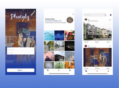 photo sharing app