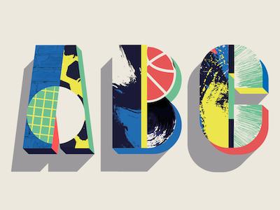 #Adobe Modular Lettering ABC modular type creativecloud illustration adobe