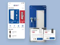 Daehan Door - Shopping App Concept