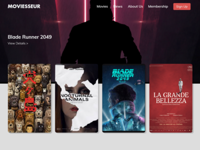 Moviesseur Home Page
