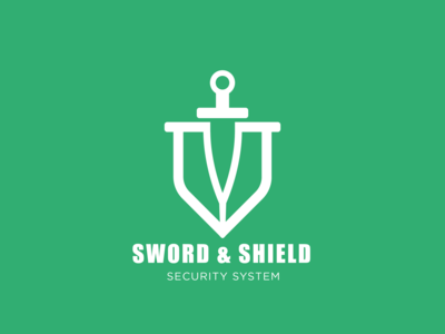 Sword & Shield logo design
