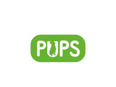 Pups logo design