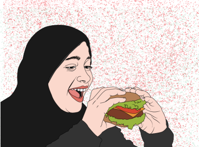 Burger is life.