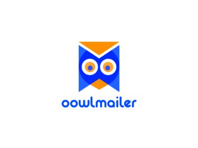 oowlmailer identity typography branding logo design