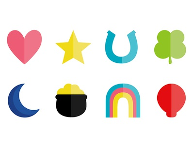 Lucky Charms - Icon set