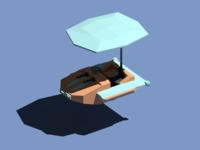 Low poly plane