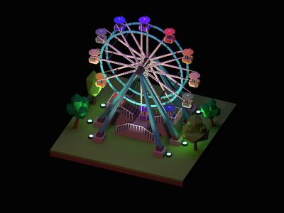 The Big Wheel - Lego inspiration