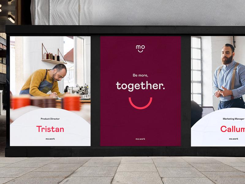 Mo - Visual identity minimal icon logo vector illustration typography branding design identity