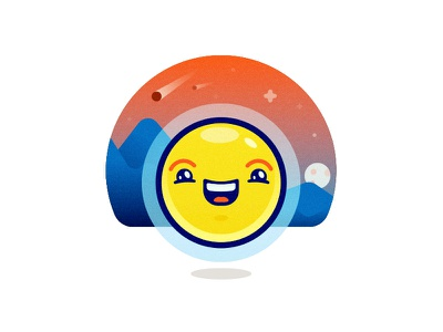 Happy Friday Smiles mountains friday confirmation moon asteroids space smile happy