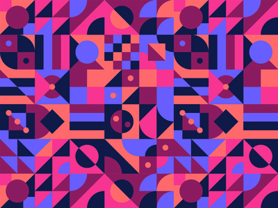 Abstract Kidio Palette branding illustration vector geometric textile texture pattern abstract