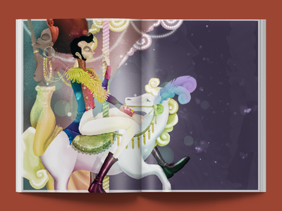 Editorial Illustration - Mr.Jones Magazine