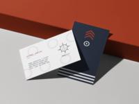Navis agency // Business Card design