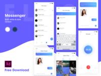 Messenger for iOS - White theme