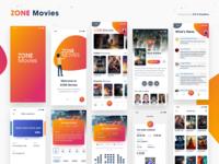 NEW - ZONE Movies - Light mode - iOS UI KIT