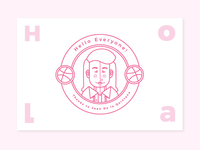 Made it to Dribbble