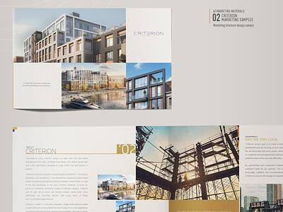 Real Estate Development Branding NYC new york city brochuredesign branding identity elegant brand identity