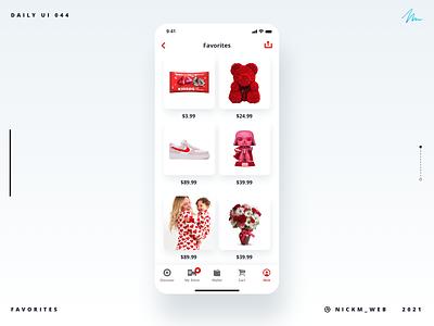 Target App Favorites | Daily UI Challenge 044 (Favorites) valentines favorites dailyui044 daily ui 044 target daily ui challenge daily ui dailyui daily dailyuichallenge