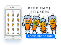 Beer Emoji Stickers