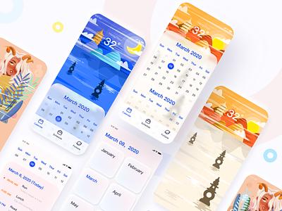 calendar app ux ui