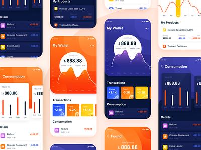 conduct financial transactions ux app ui
